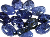 Sodalite Cabochons 40x30mm Oval 1pc