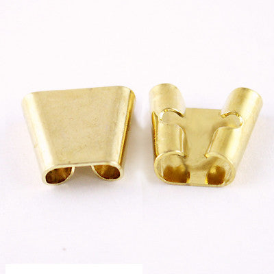 Bolo Slide 14mm Tapered GOLDTONE 2pc