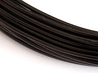 Aluminum Wire 12ga Round BLACK 39ft