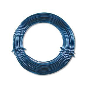 Aluminum Wire 18ga Royal Blue 39 Ft