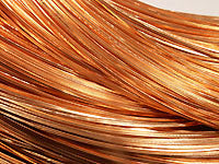 Copper Wire 20ga HALF ROUND Half Hard 50ft