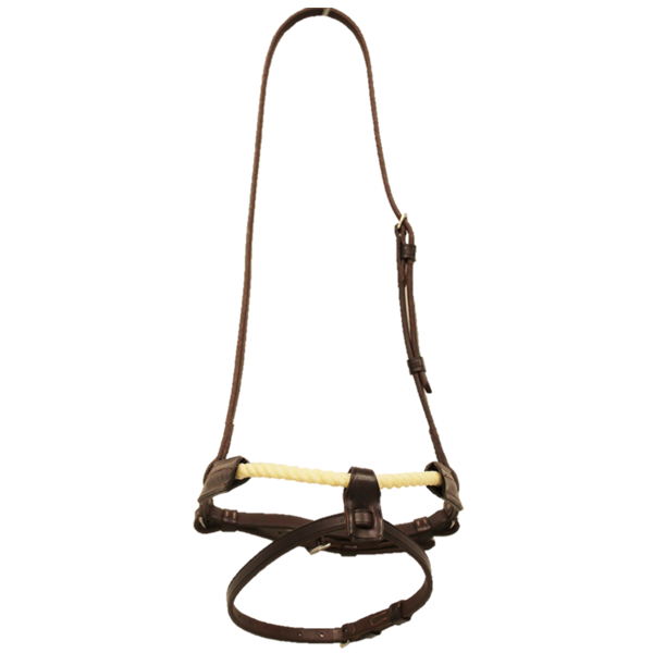 Walsh Rope Cavesson with Flash Noseband