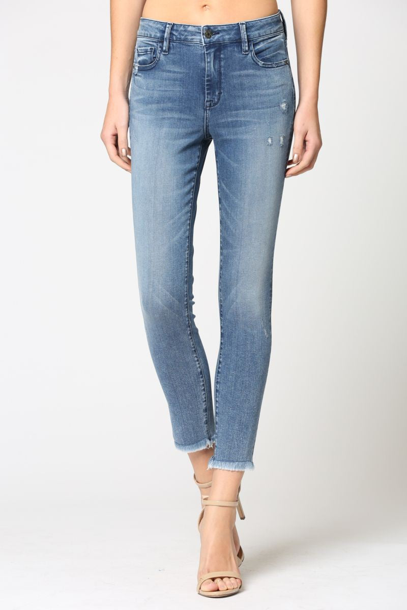 Hidden Mid-Rise Skinny Jeans