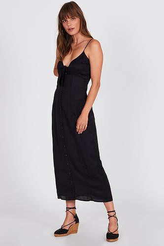 Amuse Island Fever Dress - Black