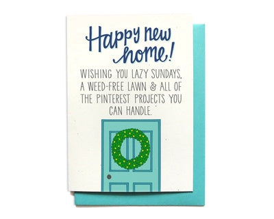 Hennel Happy New Home Card