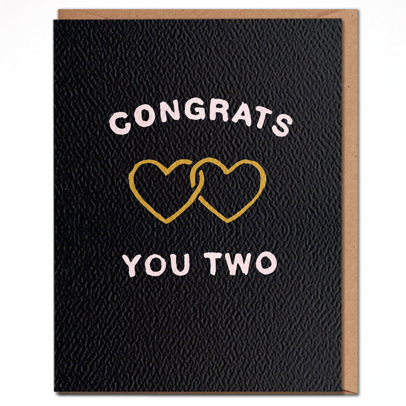 Daydream Congrats You Two Card