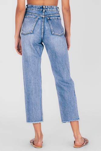Amuse Selena Pant - Worn Wash (knee distressed) - Ella J Boutique