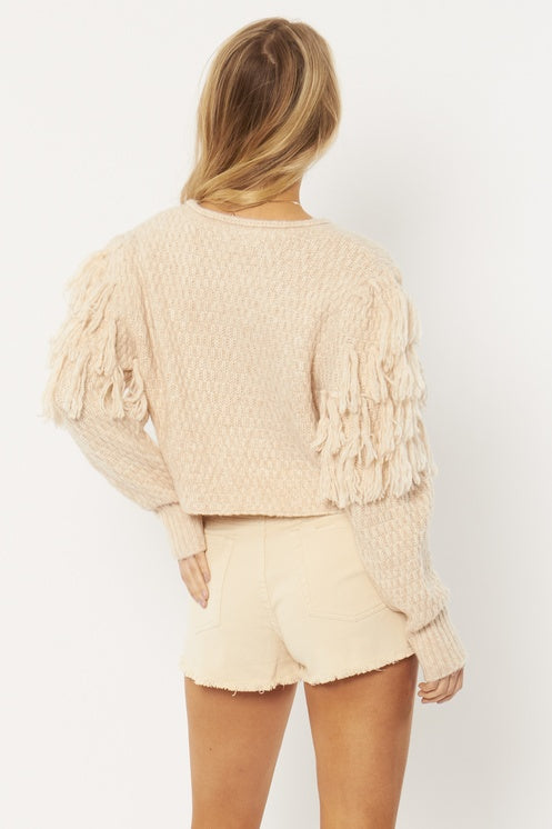 Amuse Rocha Sweater-Oatmeal