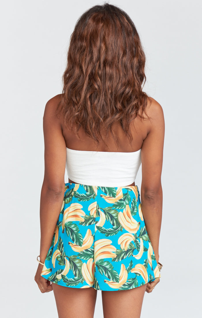 Show Me Your Mumu The Great Wrap Shorts, Annie Bananie Crinkle Stretch - Ella J Boutique