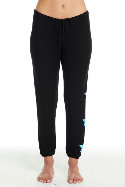 Chaser Stars Pant - True Black