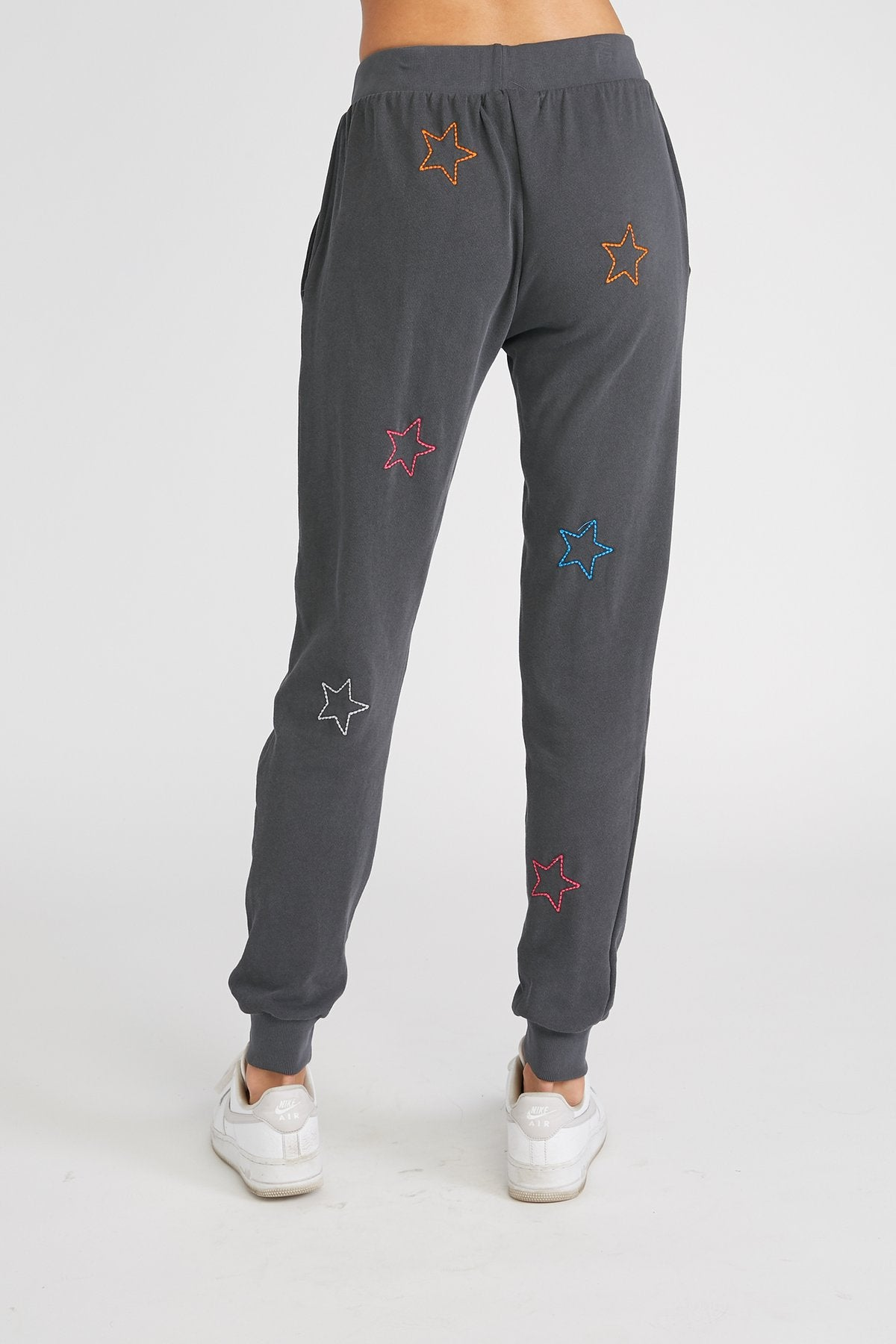 CHRLDR Color Stars Flat Pocket Sweatpants - Vintage Black