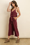 Laju Mia Jumpsuit - Wine