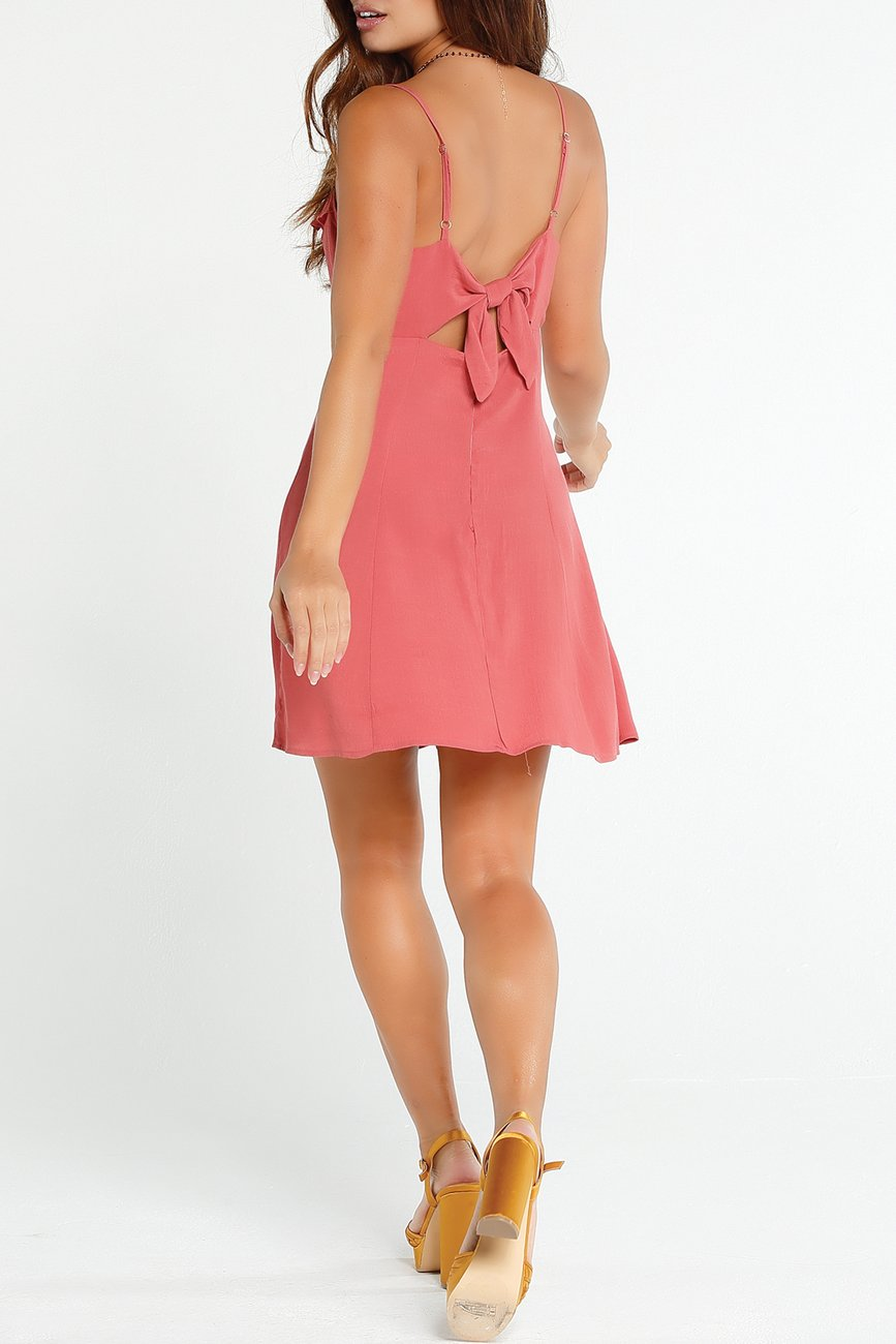 Lucy Love Elle Woods Dress-Terra Cota - Ella J Boutique