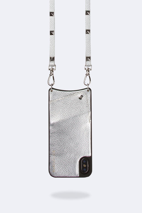 Bandolier Sarah Silver/silver iPhone X/Xs