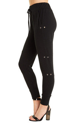 Wildfox Walker Pant - Clean Black