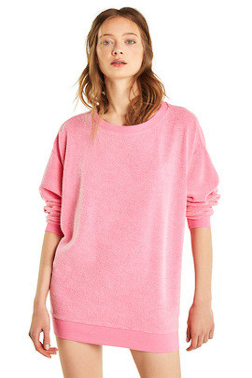 Wildfox Roadtrip Sweater - Neon Magenta