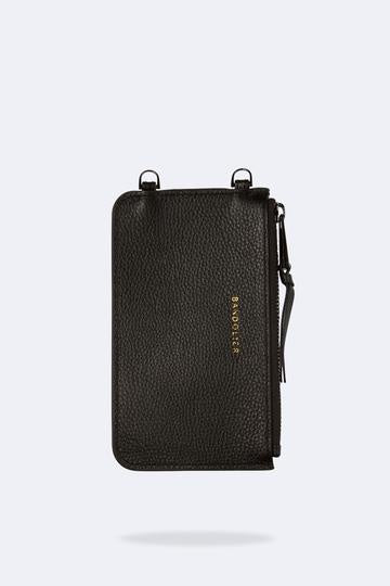 Bandolier The Emma Pouch - Black/Pewter Hardware