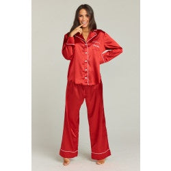 Show Me Your Mumu Sayer PJ set - Naughty Embroidery