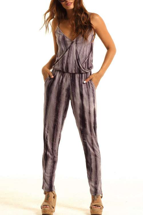Lucy Love Malibu Ranch Jumpsuit-Carbon