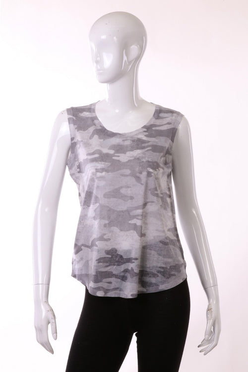 Grey Sublimated Muscle Tank