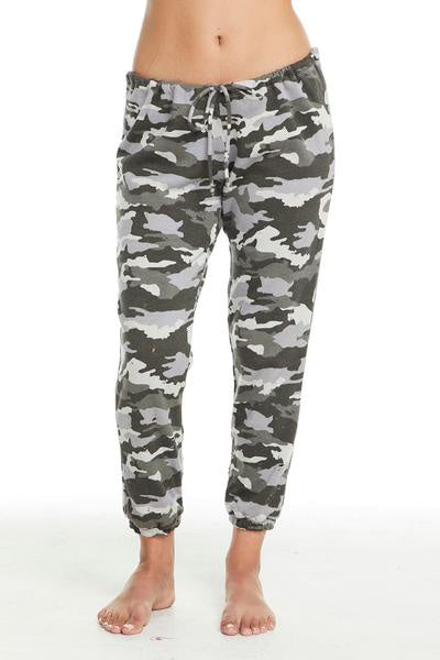 Chaser CAMO Relaxed Lounge Pant - Camouflage