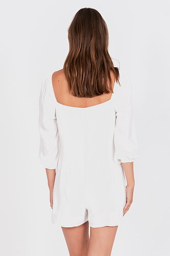 Amuse Liliana Romper - Casablanca - Ella J Boutique