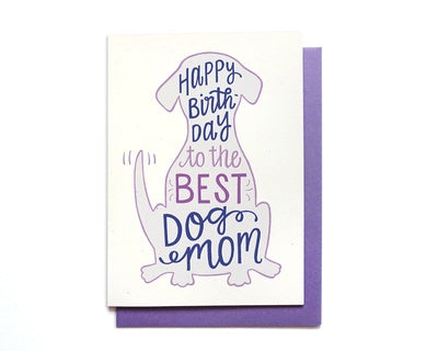 Hennel Birthday Card - Dog Mom