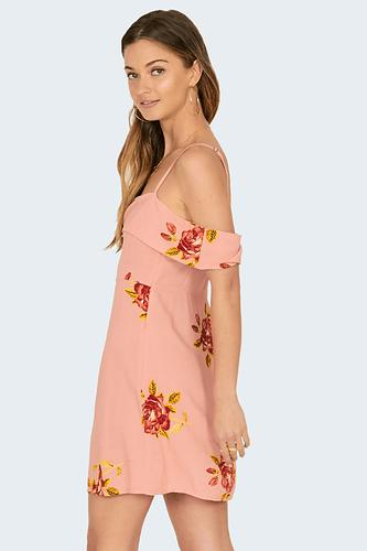 Amuse Valentina Dress - Pink - Ella J Boutique