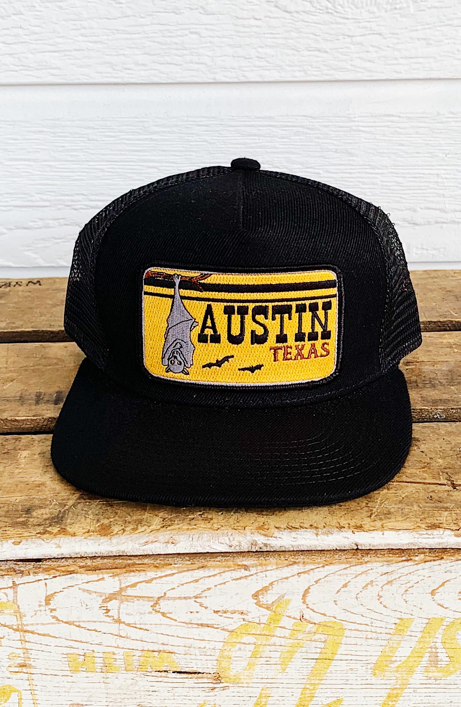 Bart Bridge Austin Texas Unisex Trucker Hat