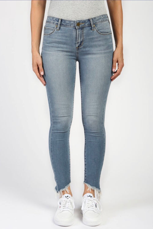 Articles of Society Suzy Step Hem Skinny - Montego