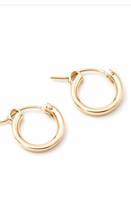 May Martin Hinge Hoops Gold Filled