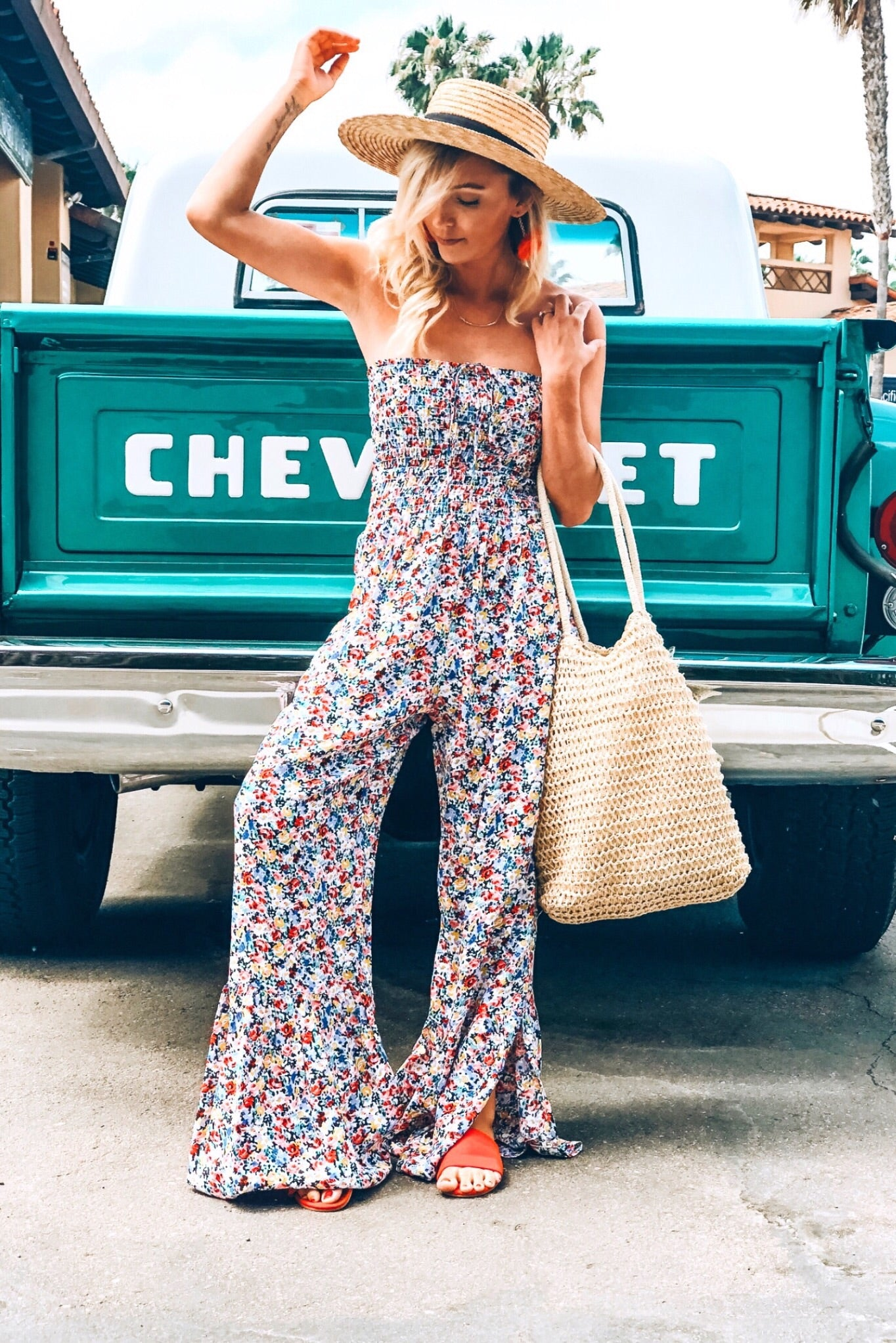 Lucy Love Tranquility Jumpsuit, Wildflower - Ella J Boutique