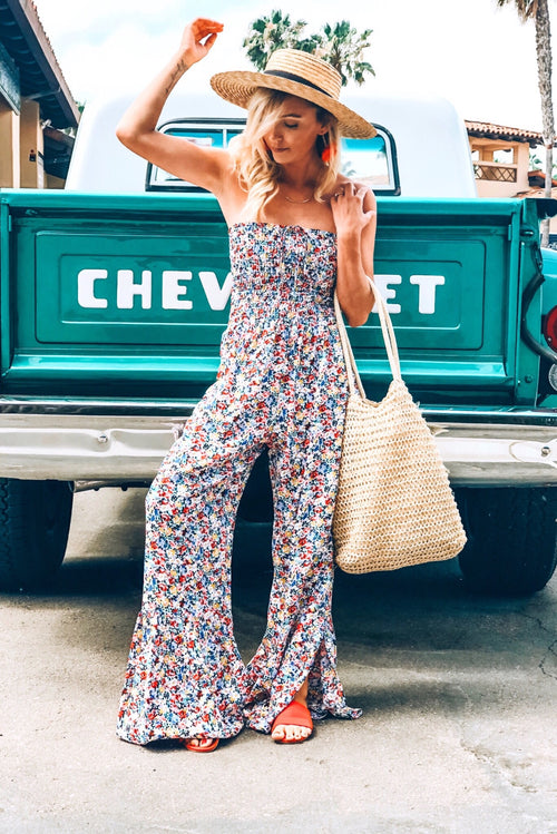 Lucy Love Tranquility Jumpsuit, Wildflower