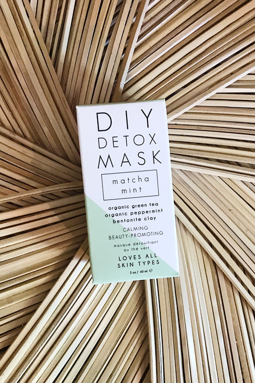 Honey Belle DIY Detox Mask-Matcha Mint