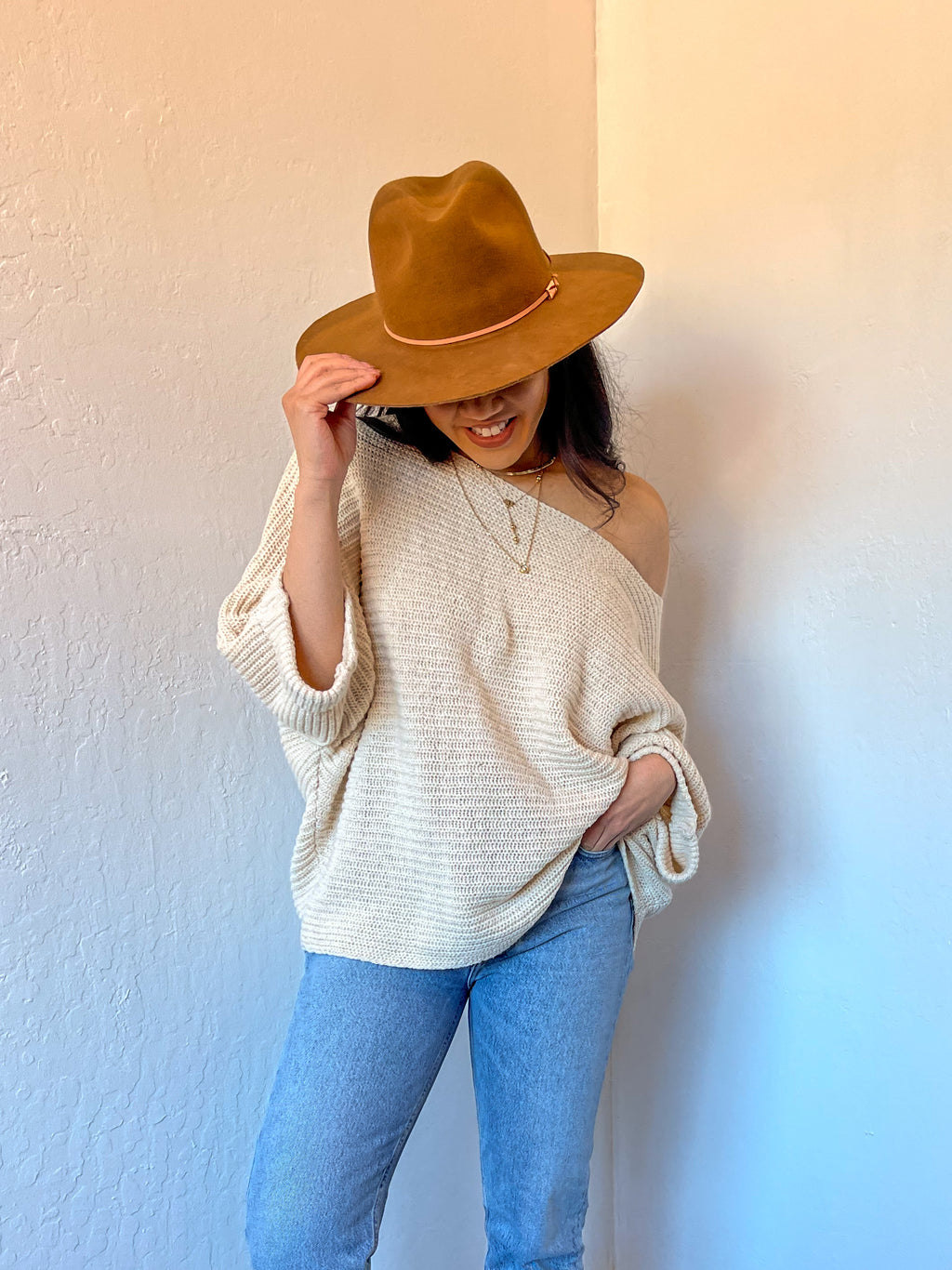Sadie & Sage Chalet Sweater-Cream