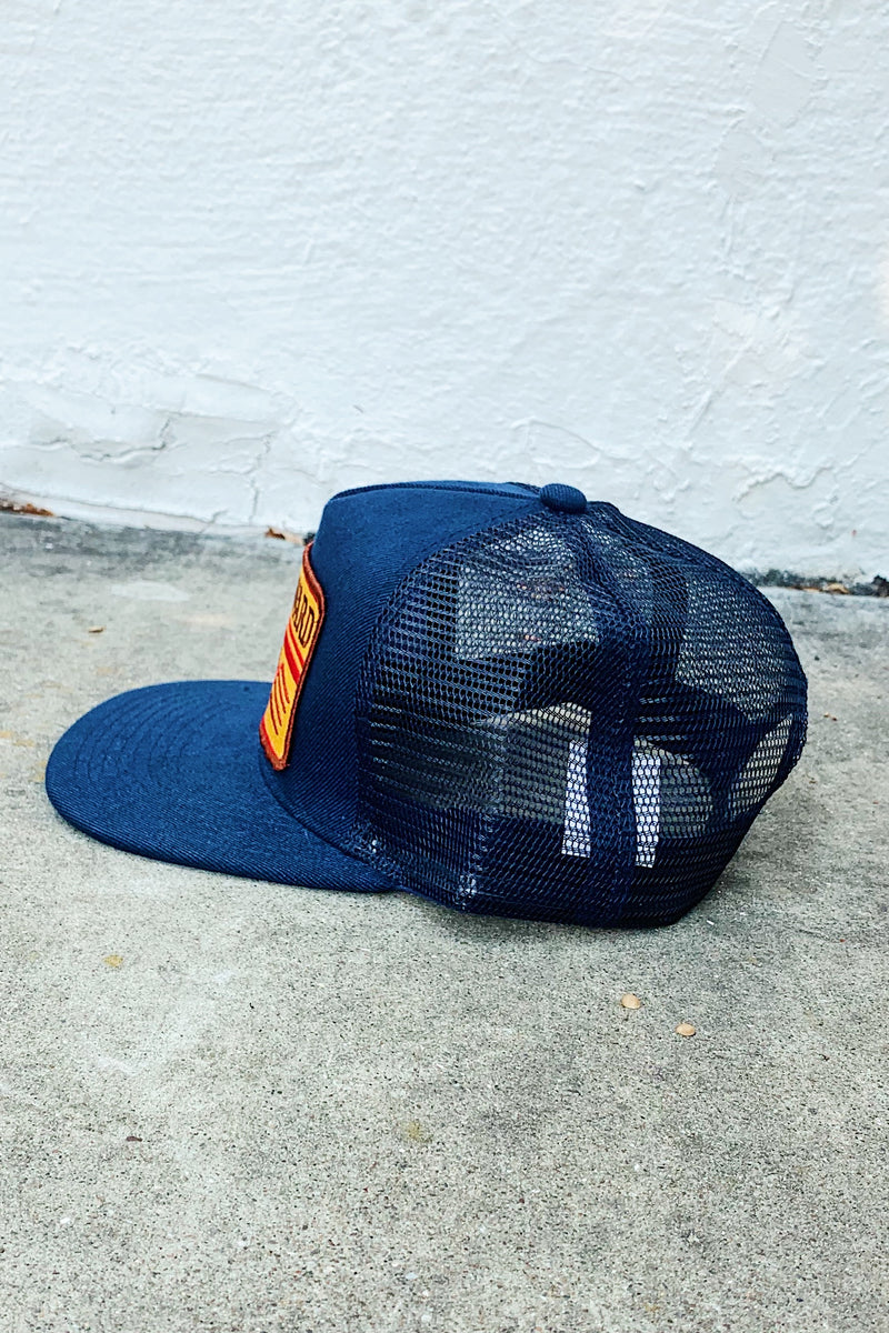 Bart Bridge Hayward Unisex Trucker Hat-Navy
