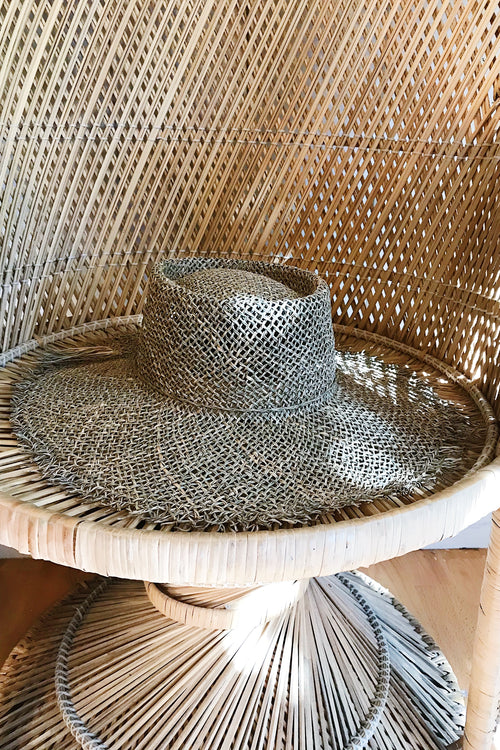 Seagrass Open Woven Hat