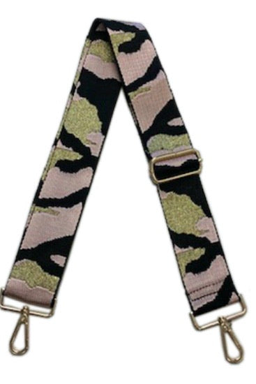 Ahdorned Pink Camo Bag Strap