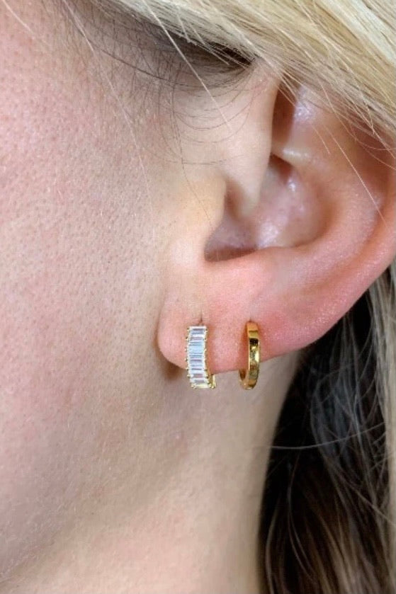 Nikki Smith Esther Huggie Earrings