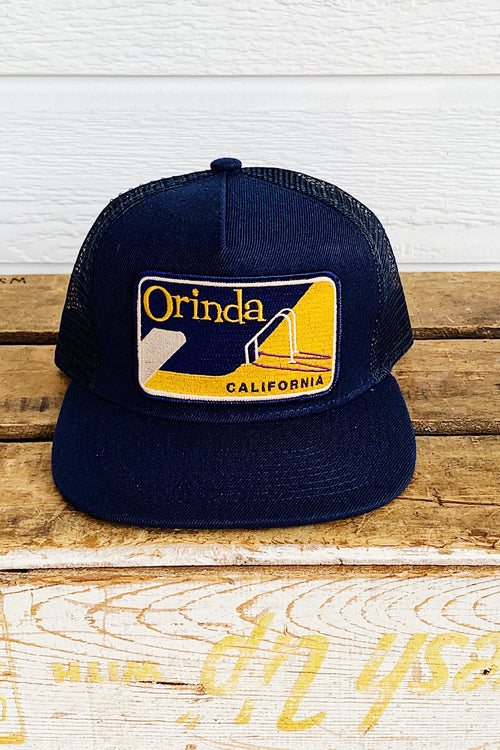 Bart Bridge Navy Orinda Unisex Trucker Hat