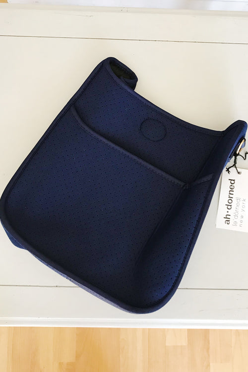 Ahdorned Neoprene Navy Messenger
