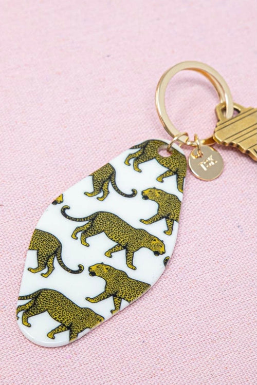 Sis Kiss Hotel Key Chain-Louis The Leopard