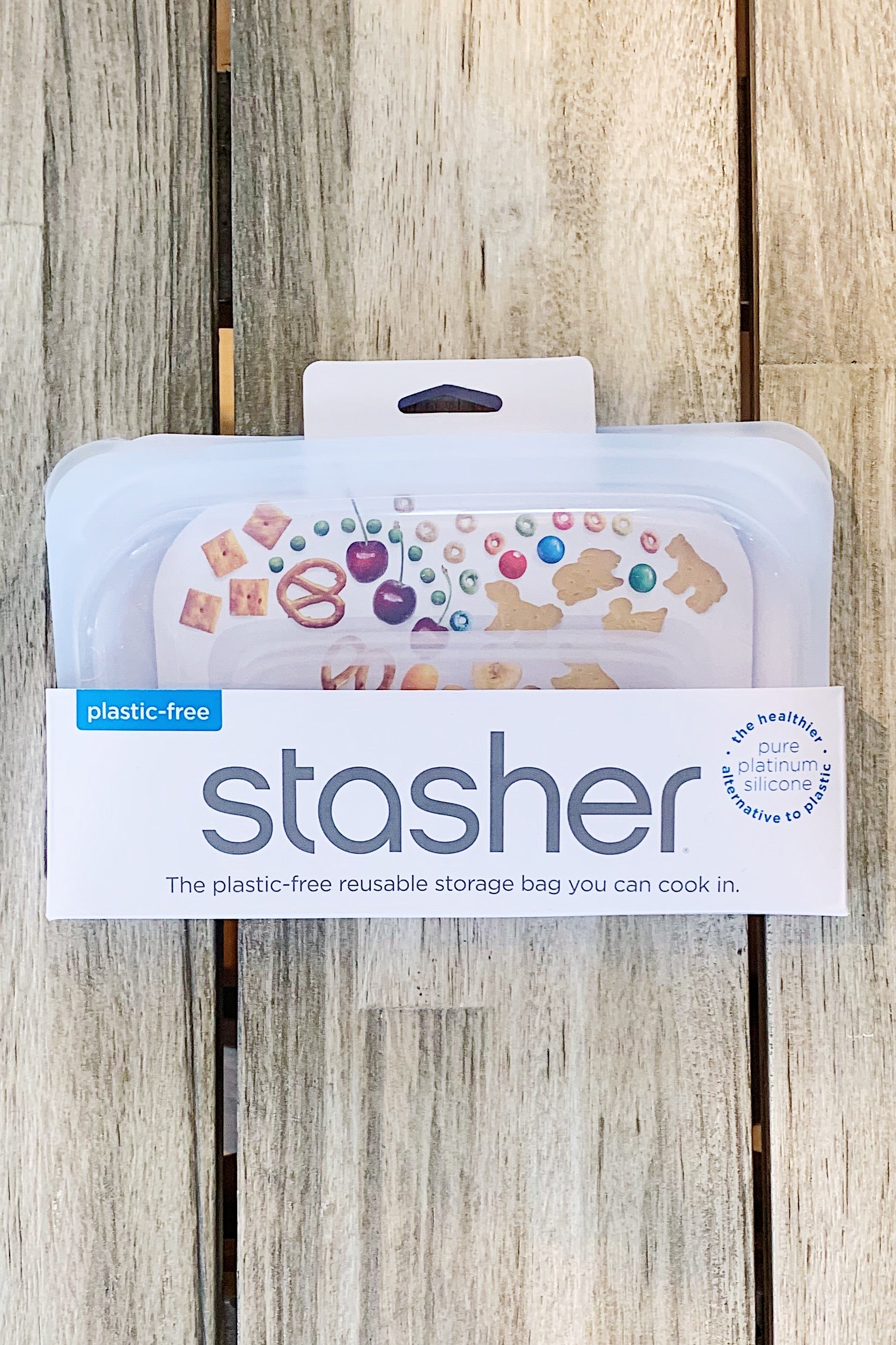 Stasher  Snack Bag - Clear