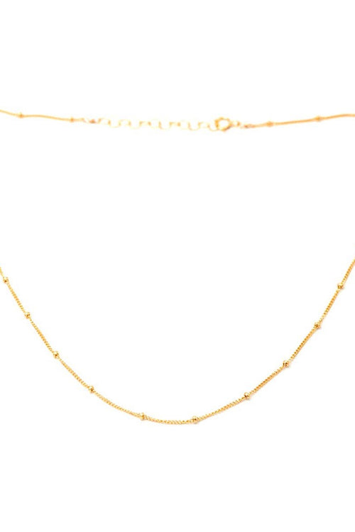 May Martin Dotted Gold Necklace