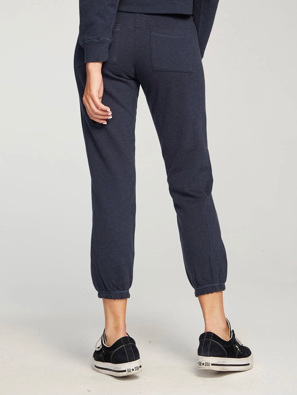 Chaser Fleece Paneled Jogger, Drift