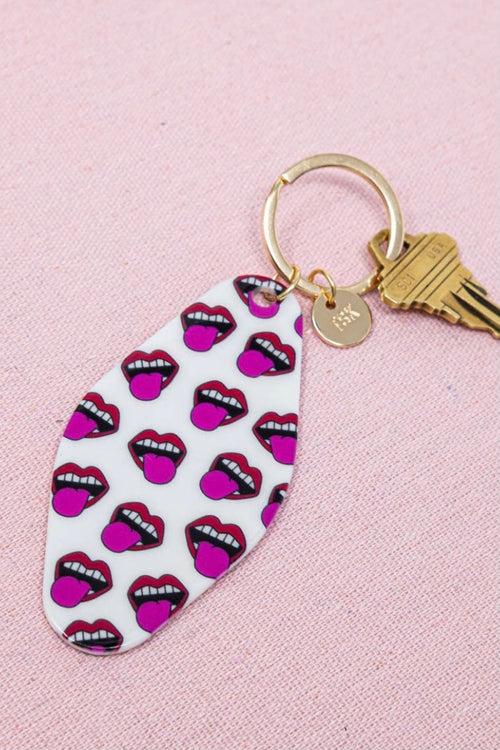 Sis kiss Hotel Key Chain-Loud Lips