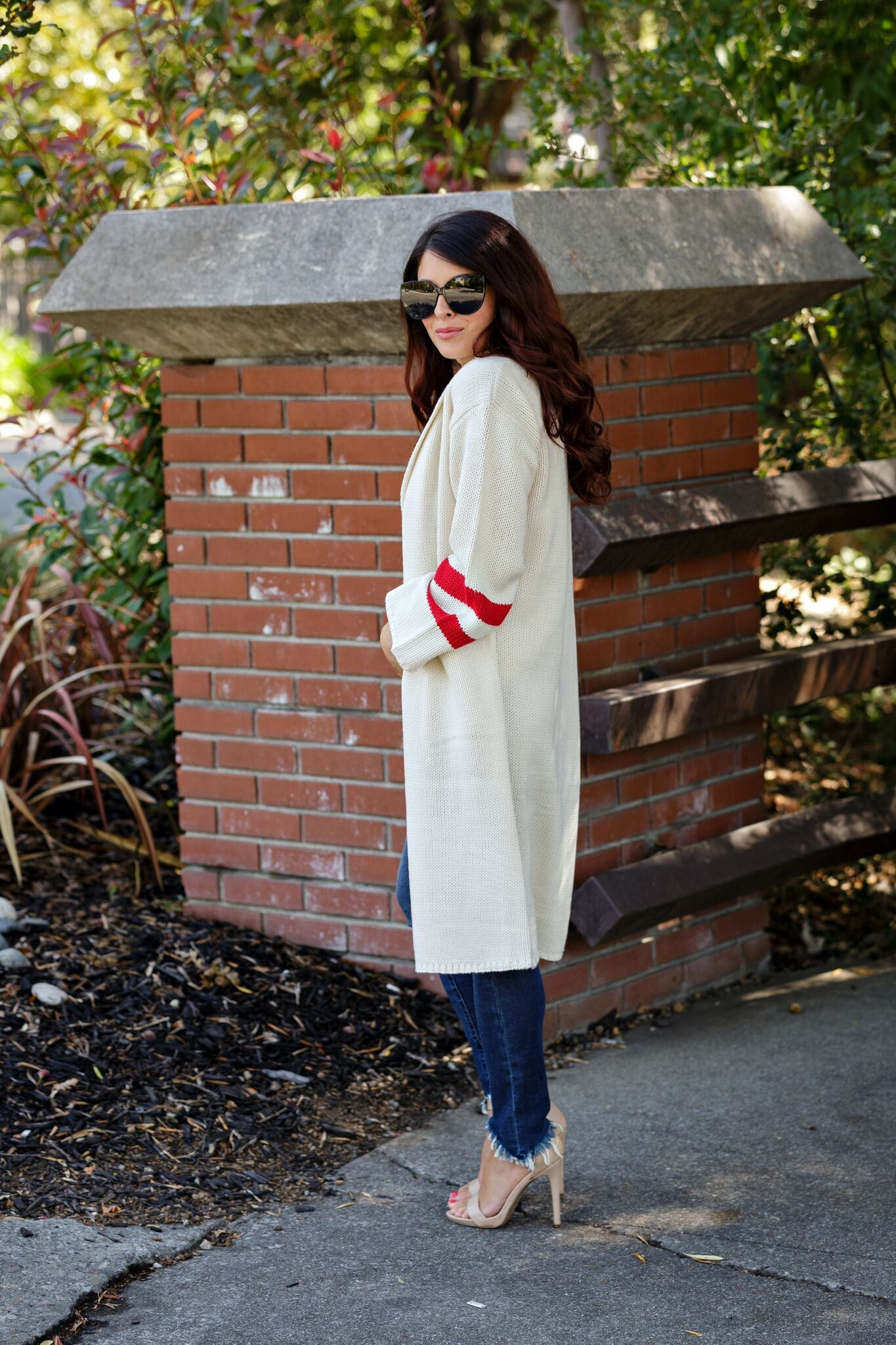 Lost + Wander Mulberry Sweater Cardigan-Natural - Ella J Boutique