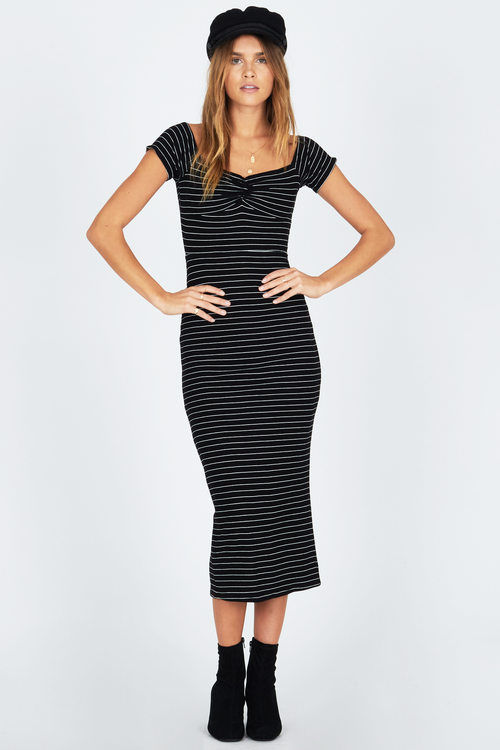 Amuse Wide Awake Striped Dress