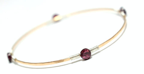 Gem Wrap Bangle