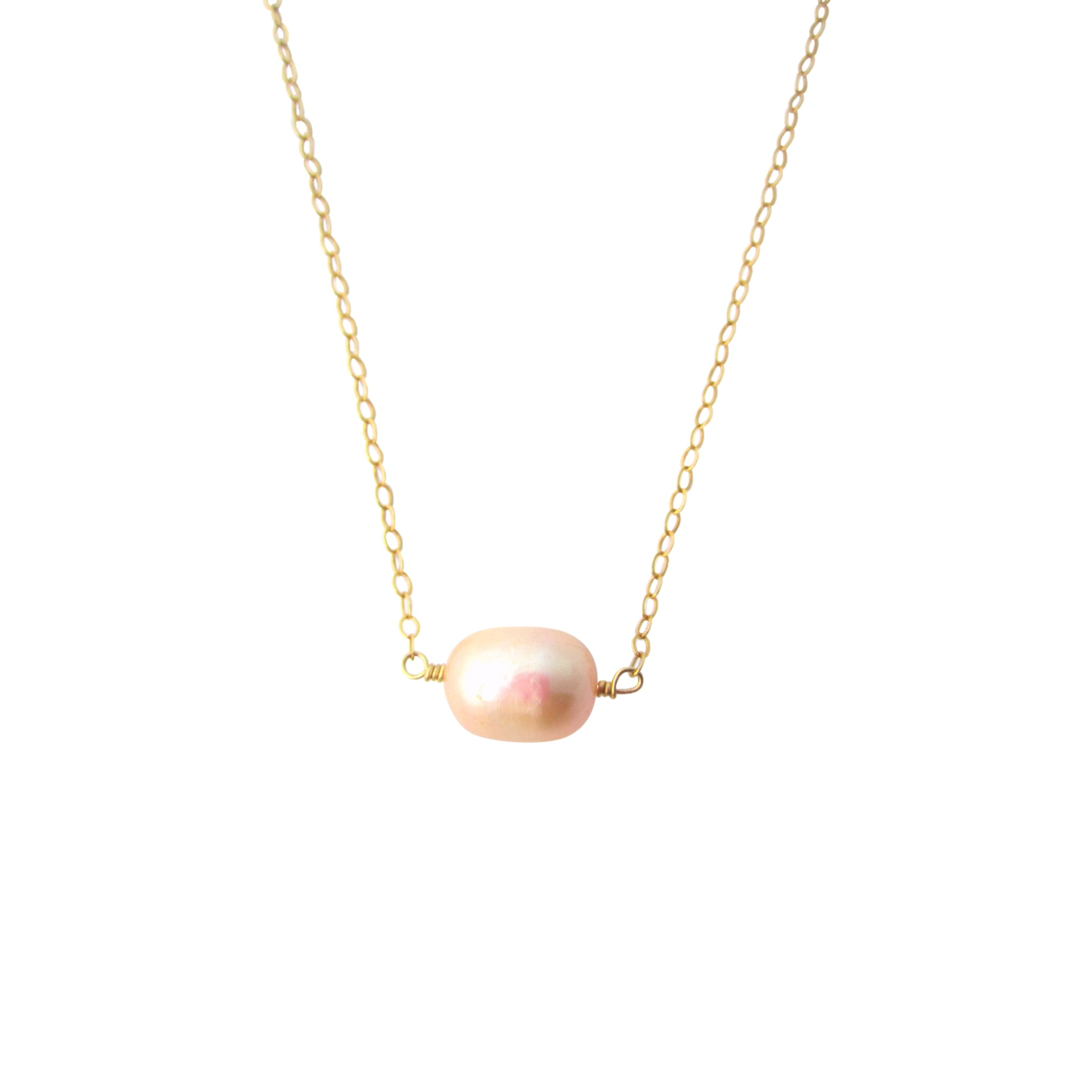 necklace freshwater silver grey white in multi pink and with pearl winterson coloured
